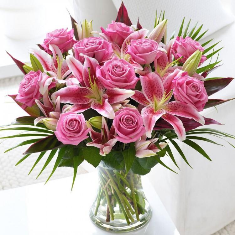 фотография красивого букета цветы этому чертогу рамхат